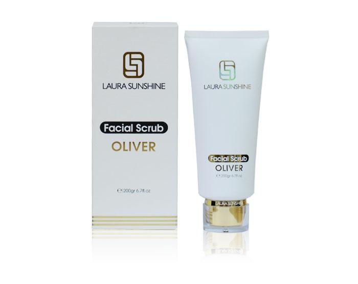 Facial Scrub Oliver - Tẩy tế bào chết